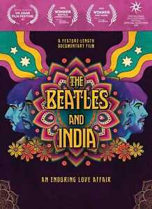 The Beatles And India - Feature Length Documentary (NEW DVD) PREORDER 29/10/21