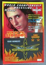 Kidman  World Championship Wrestling Star SV Instant Lottery Ticket