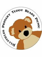 Teddy Bears Picnic Personalised Stickers 35 x 37mm Birthday Party Gift  68