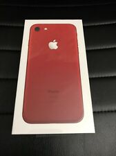 Apple iPhone 7 (PRODUCT) RED 128 GB GSM  Factory Unlocked Brand New Smartphone