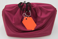 One Silky MicroFiber Dust Bag for Purse Handbag -XL/M/S Color No Logo w/ID