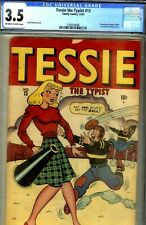 TESSIE THE TYPIST #13- CGC 3.5- WOLVERTON ARTWK-POWERHOUSE PEPPER