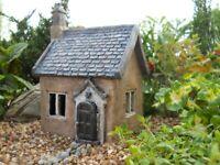Fairy Garden Gnome, Hobbit Fairies -Avery's Mini Cottage Miniature House Cottage
