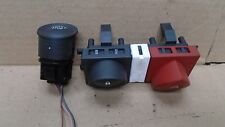 RENAULT MEGANE 2003-2008 START STOP BUTTON AND HAZARD / DOOR LOCK SWITCHES.