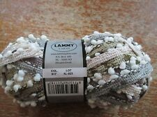lot de 7 pelotes spécial écharpe lichen 617 neuve