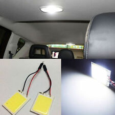 Bright COB Chip 24 LED/SMD Car Roof Doom Light 6000K Adjustable Festoon Adapter