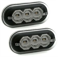 2 REPETITEURS LATERAUX NOIR FUME A LED RENAULT TRAFIC II Camion 2.5 dCi 145