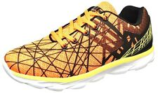 New Boys Sneakers Shoes Orange/Black/Yellow Size 10