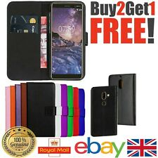 PU Leather Flip Case Wallet Smart Magnetic Skin Cover NOKIA 2.2/ 5 7 8 2.1 5.1+