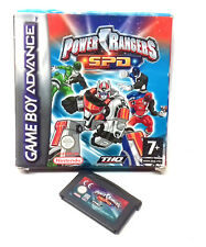 Nintendo GameBoy Advance POWER RANGERS SPD Console Game Cartridge with Box, toy