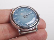 RAKETA - Russian Soviet Era Bright WristWatch New NOS Never Used GREY-Blue Dial