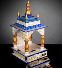 Home Mandir Pooja Ghar Mandap For Worship Wooden Handcrafted Hindu Temple KI-156