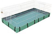 Canvas Bottom Guinea Pig Habitat Cage Small Animal House Pens Bunny Rabbit Home