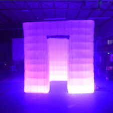 Inflatable Professional LED Air Photo Booth Tent 2.5M for Weddings, Birthdays