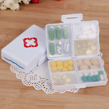 7 days Foldable Mini Pill Box Container Drug Tablet Storage Travel Case HolderXS