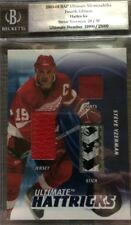 2003-04 BAP Ultimate Mem. 4th Ed.: Ultimate Hattricks/30-Steve Yzerman