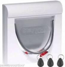 Staywell Petsafe 932 Chatière blanc magnétique 4 voies fermeture Inc.3x Key
