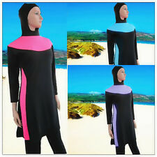 Full Cover Modest Burkini Swimwear Swimsuit Burqini Muslim Islamic Beachwear