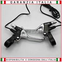 Coppia Leve Freno per Monopattino Elettrico Alluminio Sinistra / Destra