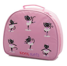 Girls Pink Nylon Dance Ballet Shoe Bag Case Handbag By Katz Dancewear KB65