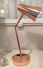 Industrial Urban Retro Copper Finish Metal Office Desk Table Lamp ADJUSTABLE NEW
