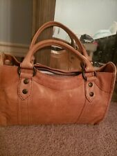 NWT FRYE LEATHER MELISSA SATCHEL DUSTY ROSE DB147 MSRP $388