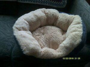 Cat/dog bed high sides