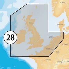 Navionics Plus XL9 28XG Tarjeta Msd Con Adaptador Sd-Reino Unido Irlanda & Holland
