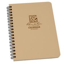 Rite In The Rain All Weather Waterproof Calendar Pocket Diary Tan 9263MT