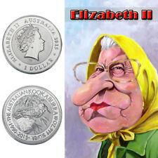 WR Elizabeth II Australian Queen Kookaburra Silver Coin Collection Gifts