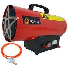 New 15KW Portable Propane LPG Gas Heater Industrial Workshop Space Fire Electric