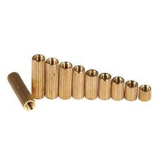 M2 Brass Standoff Spacer Pillar Female Screws Knurled Round Pillars Nuts