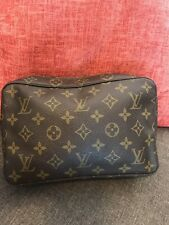 VINTAGE Louis Vuitton Trousse Toiletry 23  Cosmetic Pouch Pochette 834 READ👇