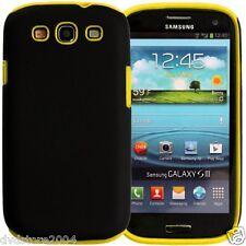 Custodia IBRIDA GIALLA per Samsung Galaxy S3 I9300 I9300I NEO I9305 Cover Bumper