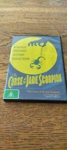 Curse Of The Jade Scorpion...Woody Allen Dan Aykroyd Helen Hunt DVD - VGC