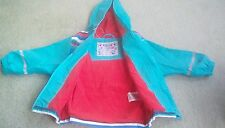 showerproof raincoat fleece lined 2-4 years Unworn