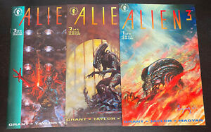 ALIEN 3 (1992 Dark Horse) -- #1 2 3 -- FULL Series -- Movie