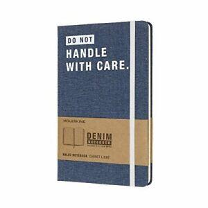 Moleskine Notitieboek Denim - Limited Edition - Large - Gelinieerd BOOKH NUEVO