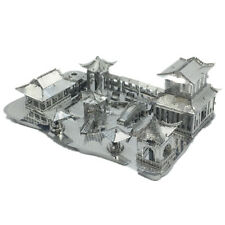 3D Metal Puzzle China Suzhou Garden DIY Assemble Model Kits Laser Cut Jigsaw Toy