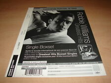 ROBBIE WILLIAMS GREATEST HITS!!!!!RARE FRENCH PRESS/KIT