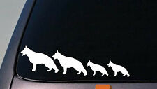 "GERMAN SHEPHERD FAMILY 8.5"" STICKER DECAL VINYL CAR MALINOIS SCHUTZHUND *D628*"