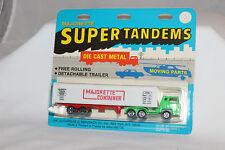 Majorette Super Tandems #361 Bernard Tractor Trailer Container Semi, MOC, #6