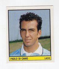 figurina SCALA CAMPIONATO D'ITALIA 1989/90 LAZIO NUMERO 161 DI CANIO