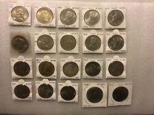 20 LARGE BRITAIN  CROWN COINS~CHURCHILL,CHARLES/DIANA,QEII/PHILLIP,QE CORONATION