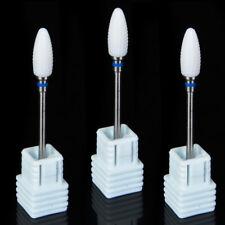 20*Dental Lab Air Turbine Polisher Bur Zirconia Ceramic Bullet Shape HP104 Shank