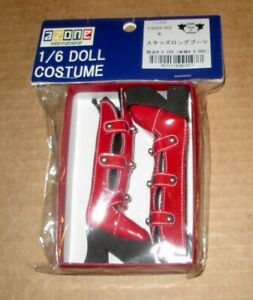 AZONE 1/6th Scale Red Boots MIP