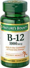 Vitamina B 12 Diaria - Fortalece Inmune Saludable Sistema Aumenta Energía US