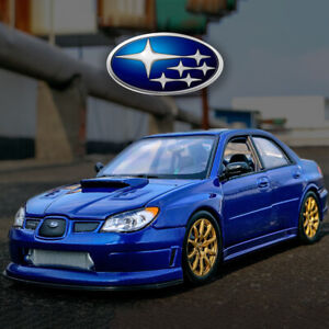 1:24 Subaru Impreza WRX STI Hawkeye Diecast JDM Model Car Toy | WELLY NEW IN BOX