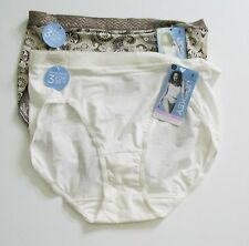 5d3a9f517c28 2 Jockey Perfect Fit Promise Hipster Panty Brown Paisley & Ivory 1401 Sz 8  - NWT