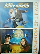 City of Ember/Agent Cody Banks (DVD, 2012, 2-Disc Set) WORLD SHIP AVAIL